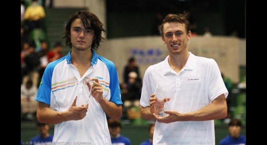Win at Kobe Challenger in Japan John Millman
